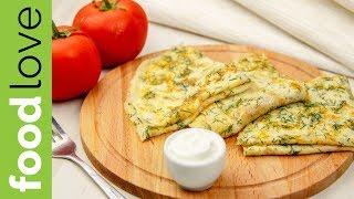 НАДОЕЛИ ОБЫЧНЫЕ БЛИНЫ? Блины с сыром и зеленью еще никого не оставили равнодушным!  Блины   FoodLove