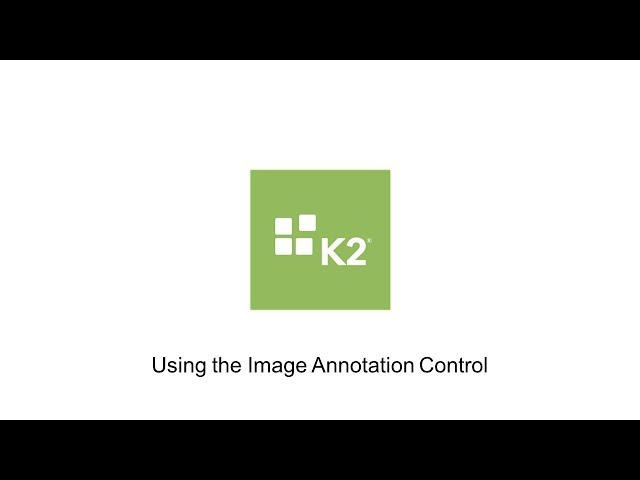 How-To: Using the Image Annotation Control
