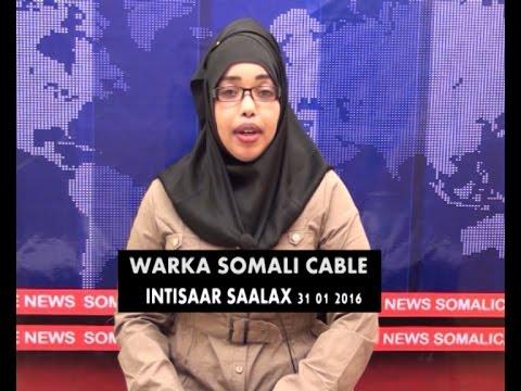WARKA SOMALI CABLE IYO INTISAAR SAALAX 31 01 2016