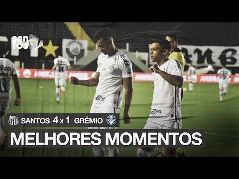 SANTOS 4 x 1 GRÊMIO   MELHORES MOMENTOS   CONMEBOL LIBERTADORES (16/12/20)