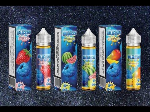 Blazz E Liquids By Nick Bessette aka Daily Vape TV