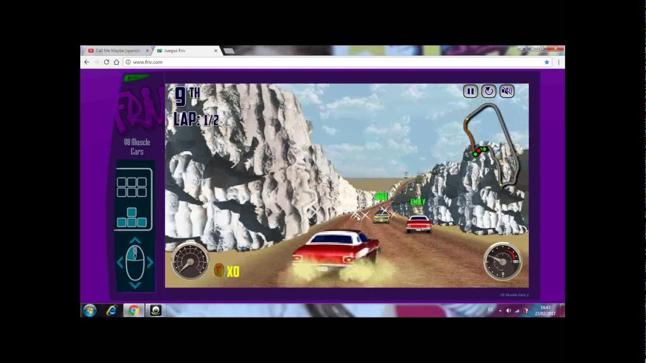 jugando v8 muscle cars / :) / javi gamer :) - youtube