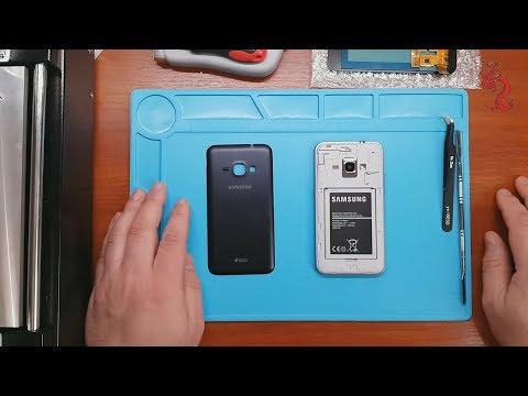 Samsung J1(2016) //Дешманская схемотехника //Замена экранного модуля