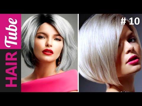 мода стрижек на средние волосы фото