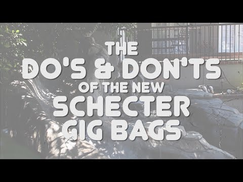 SCHECTER GIG BAGS