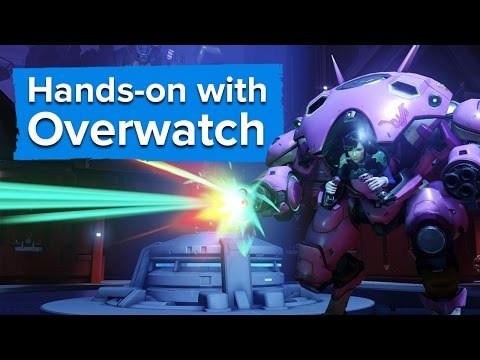Hands-on with the new Overwatch heroes - Genji, Mei, and D.Va (PC Gameplay)