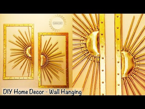 Wall hanging craft ideas very easy | diy unique wall hanging | diy wall decor  | Paper Crafts