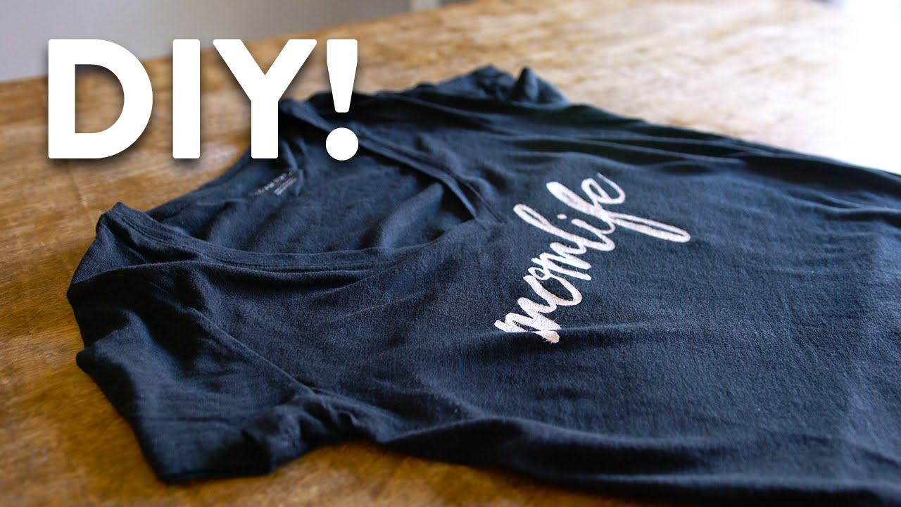 Diy Custom T Shirt Printing Tutorial Made Easy You