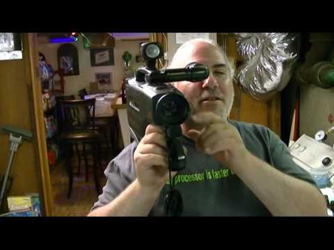Panasonic Omnimovie Vhs Camcorder Pv 810 Tape Test Youtube