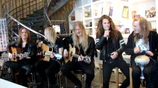 Dynazty live - Hunger for love (acoustic)