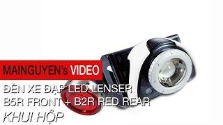 khui hop den led lenser b5r front  b2r rear danh cho xe dap - wwwmainguyenvn