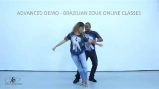 BRAZILIAN ZOUK ONLINE CLASSES COUNTER BALANCE - CARLOS AND FERNANDA