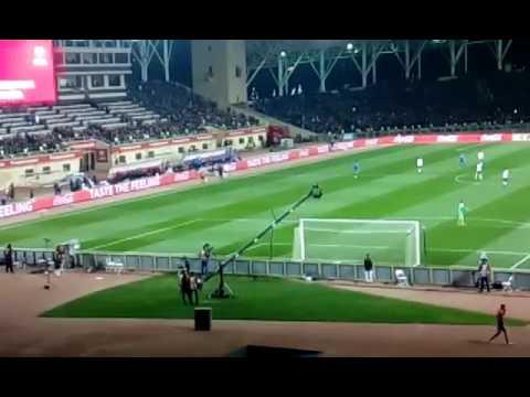 Azerbaijan 1-4 Germany ..Azerbaijan Fans RESPECT Mesut Ozil....