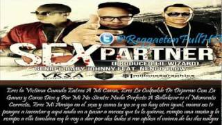 Sex Partner - Genio y Baby Johnny Ft Ñengo Flow (Original) (Lyrics/Letra) ★Reggaeton 2012★