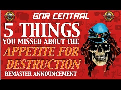 Guns N' Roses: 5 Things You Missed In Appetite for Destruction Re Release Announcement!