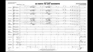 50 Ways to Say Goodbye arranged by Paul Murtha