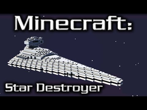 Minecraft: Star Wars: Star Destroyer Tutorial (Imperial I-Cl
