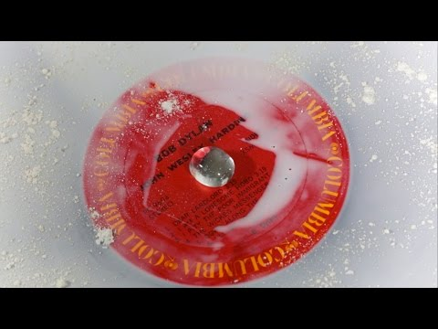 The Glue Method for Deep Cleaning Vinyl Records (done badly) Part 2