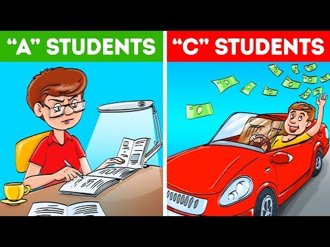 Why C Students Are More Successful Than A Students