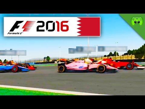 SCHLECHT GEFAHREN | Bahrain 1/2 🎮 F1 2016 #62