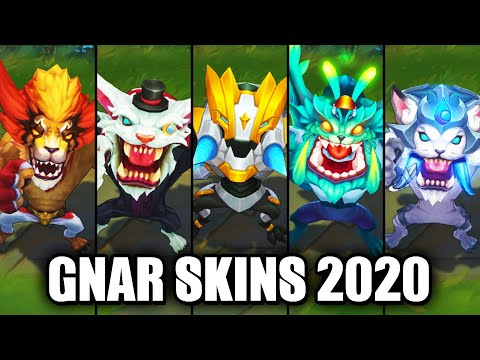 All Gnar Skins Spotlight 2020 (League of Legends)
