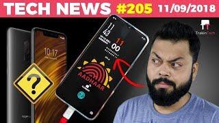 OnePlus 6T Date Confirmed, WhatsApp on JioPhone, Aadhaar, PocoF1 Screen Bleed, Realme2 Sales-TTN#205