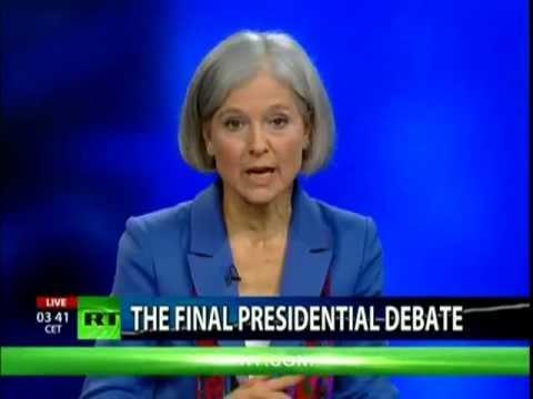 Final US Presidential Third Party Debate (Gary Johnson & Jill Stein)