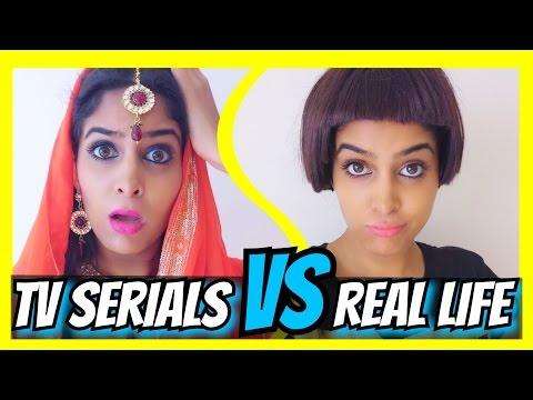 Indian TV Serials VS. Real Life   #AnishaTalks