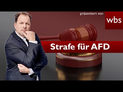 AfD-Prozess: Mega-Bußgeld wegen Spendenaffäre? | Rechtsanwalt Christian Solmecke