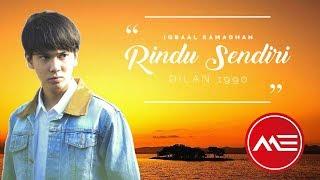 Download lagu Lirik Lagu Iqbal Ramadhan - Rindu Sendiri ost Dilan 1990