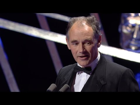 Mark Rylance wins a BAFTA for leading Actor - The British Academy Television Awards 2016