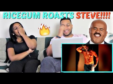 "Ricegum ""STEVE HARVEY ROASTED ME!!! (RACIST ASIAN JOKE)"" REACTION!!!"