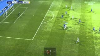 Sirion - I Segreti Del Mio Schema! - Ascoli-Barcellona (Pes 2011 Commentary Gameplay ITA HD)