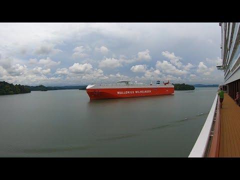 Timelapse:  Norwegian Bliss Panama Canal Transit