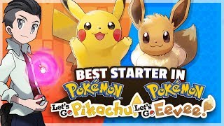 What Is The Best Starter Pokemon in Pokemon Let's Go Pikachu and Let's Go Eevee? Feat. MysticUmbreon