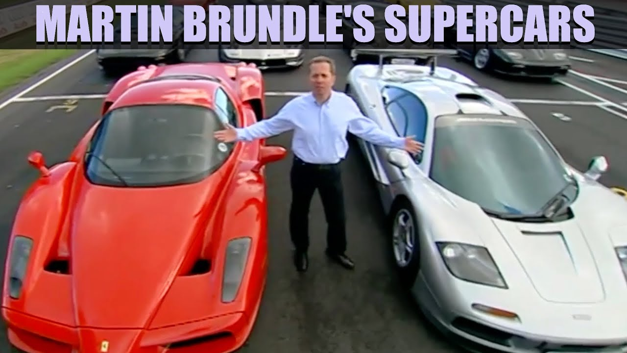 Download Martin Brundle's Super Cars The COMPLETE Film | Fifth Gear Classic