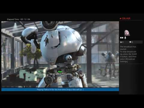 Let's play  Fallout 4 - Streaming Episode 15 - Here There be Monsters - Yangtze - HD