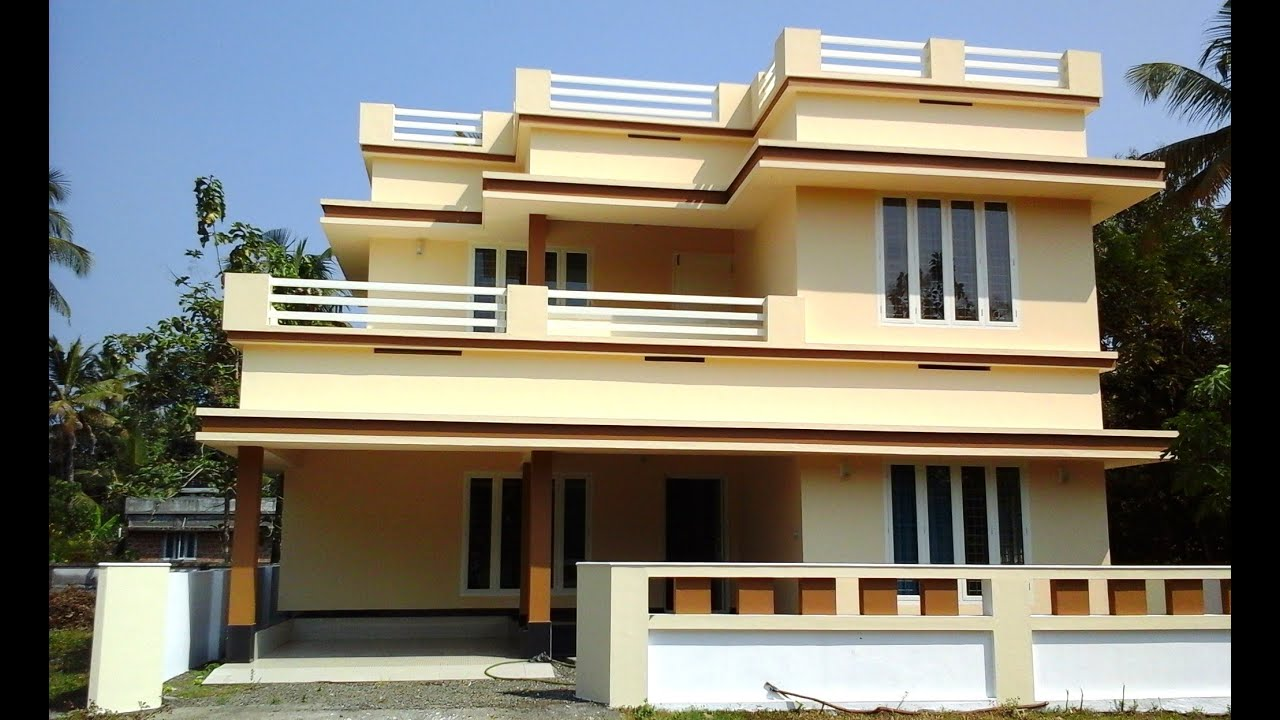 kalady 5 cents plot and 2100 sq ft medium budget house for sale in kalady kochi near cial youtube - Medium House 2016