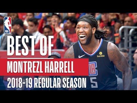 Montrezl Harrell's Best Plays From 2018-2019 Regular Season