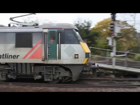 Ipswich Freight + Passenger Workings Part 1 | Thursday 21st November 2013