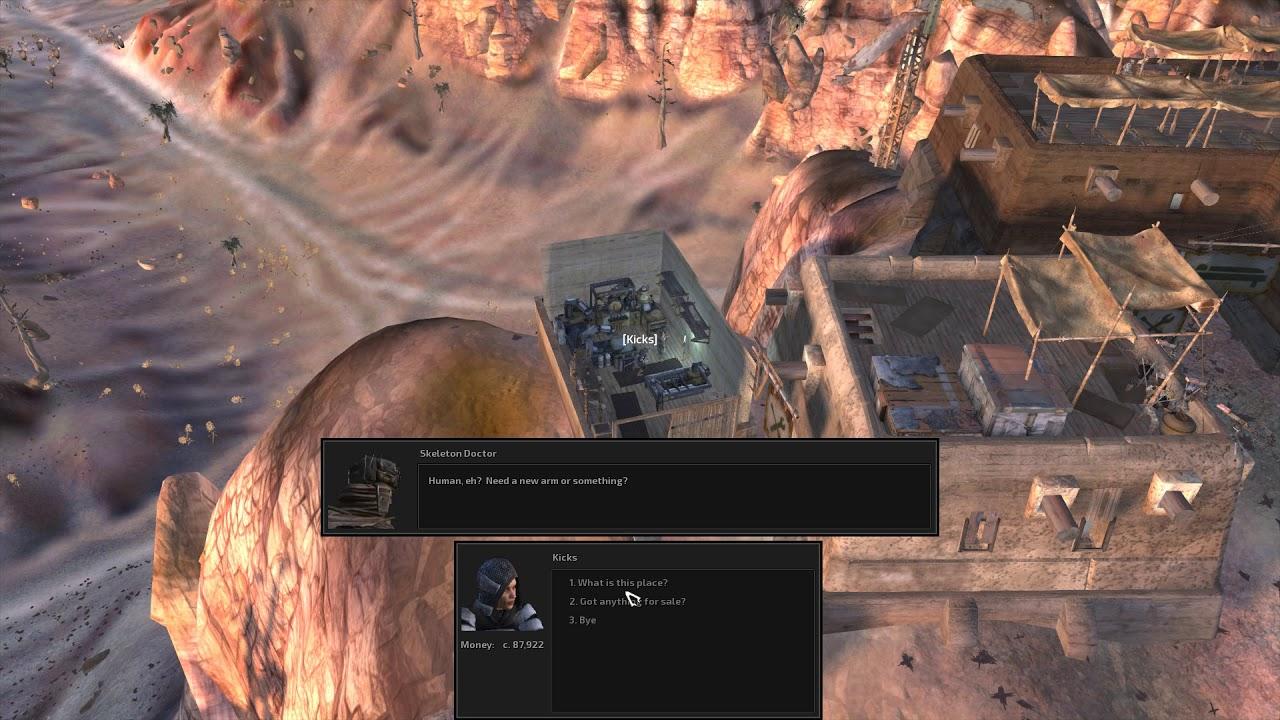 Kenshi Black Desert City Weapon Shop