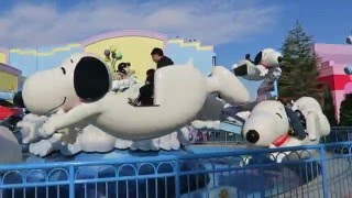 フライング スヌーピー usj flying snoopy at universal studios japan
