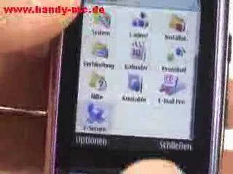 Nokia E51 Bedienung