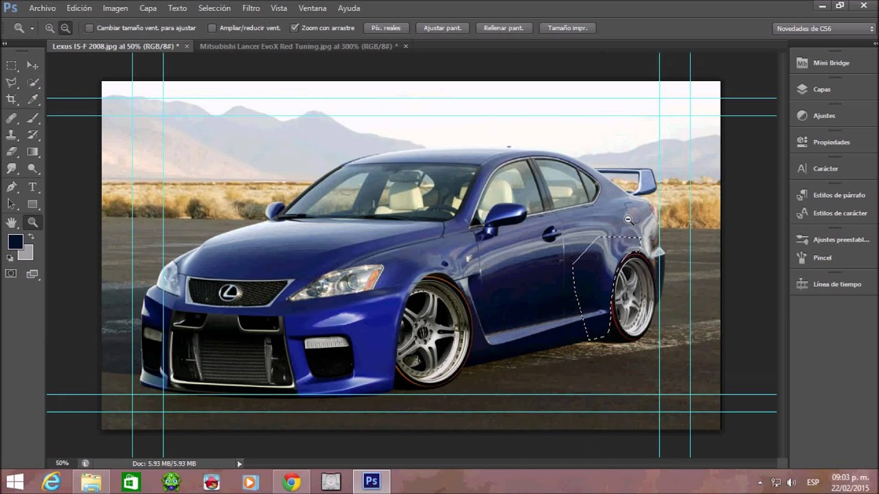 Tuning Virtual 2015 Lexus ISF 2008