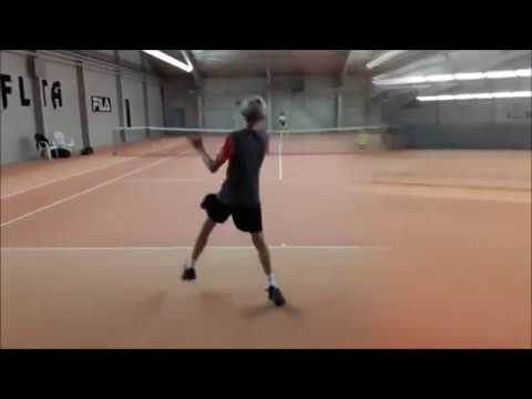"Tennis Drills - Tactical Training - Baseline Game - ""The Traffic Light Drill"""