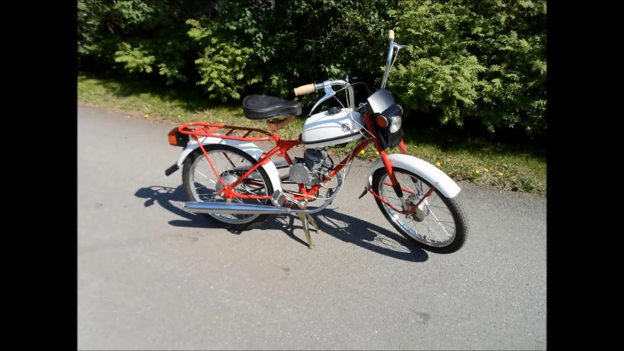 Riga Riders - The Restauration Project: Moped ''Riga 13'' 1990