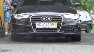 Auta z Niemiec #29/08/2016: Audi A6 z kolacją /Mönchengladbach/