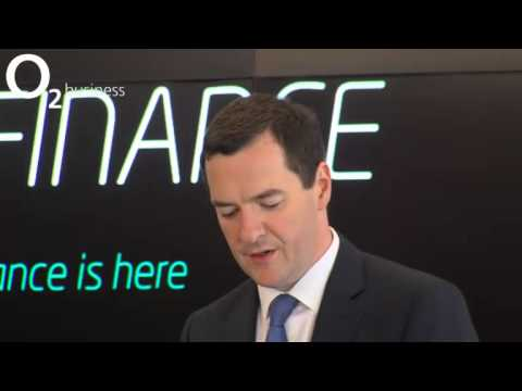 Launch Announcement: George Osborne, Chancellor of the Exchequer