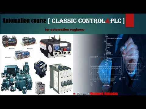 Automation Courses( classic ): 7 - HOW build star delta motor in automation studio