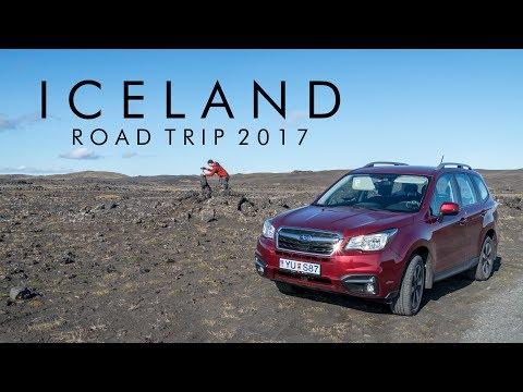 Iceland - Roadtrip Timelapse